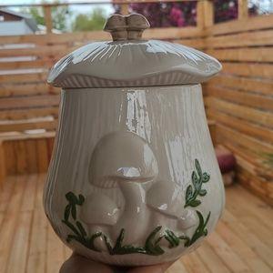 Vintage Arnels Mushroom Canister